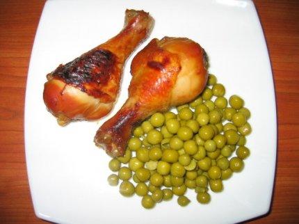 Рецепт: Курица маринованная в соевом соусе