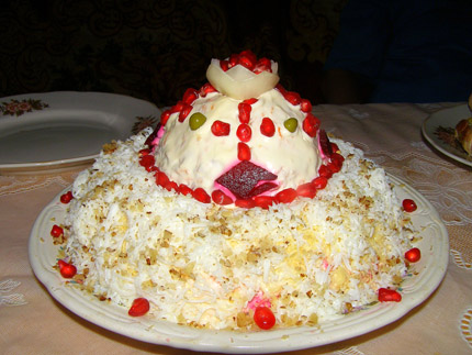 салат шапка мономаха рецепт