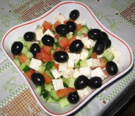Рецепт: Cалат греческий