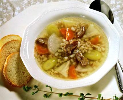 Суп шотландский