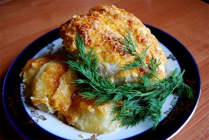 Запеченные куриные грудки