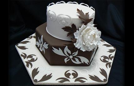 сахарные украшения для тортов: бисквитный торт видео.