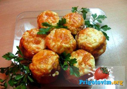 помидоры фаршированные курицей