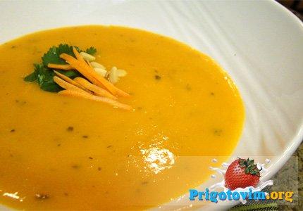 морковный суп-пюре рецепт