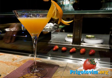 коктейль мандариновая фея